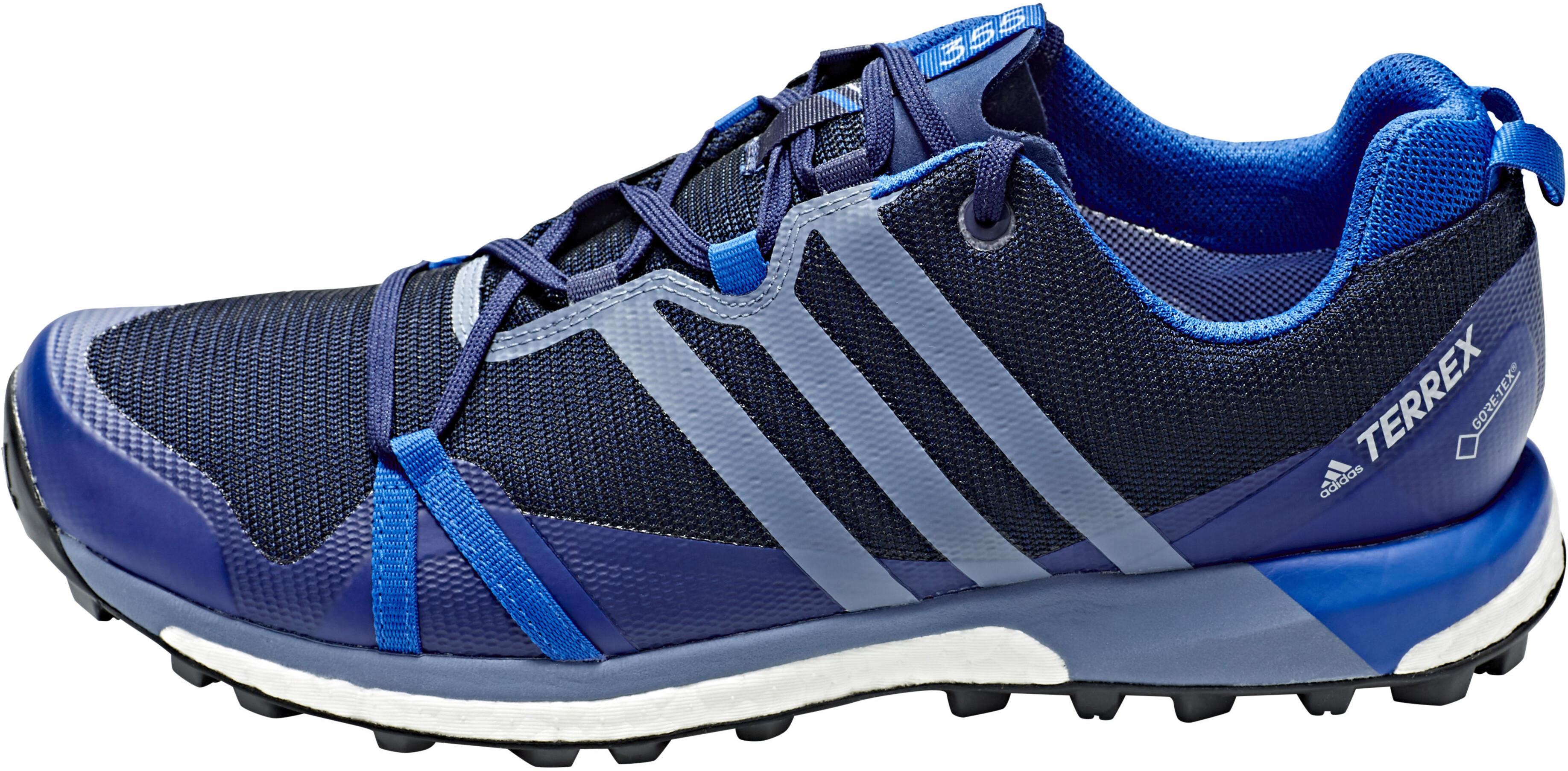 adidas TERREX Agravic GTX Shoes Men collegiate navy raw steel blue beauty 56122c2c2